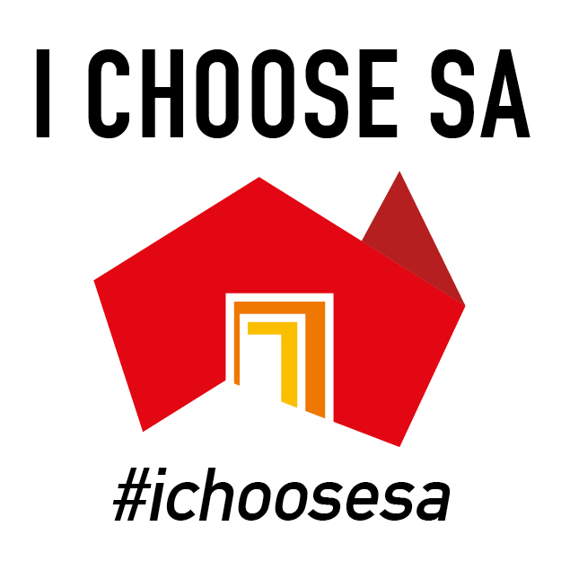 i choose SA logo